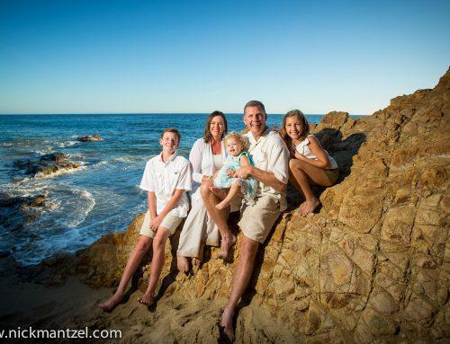 Hardgrove Family Portrait Photography   Laguna Beach   California